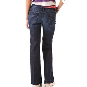 7 for All Mankind Dojo Petite Flare Jeans - 26